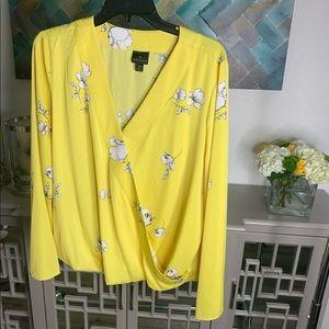 XL Worthington Long sleeved blouse